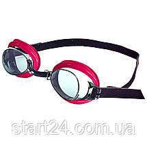 Очки для плавания детские ARENA BUBBLE 3 JUNIOR AR-92395 (поликарбонат, термопластичная резина, силикон, цвета, фото 2