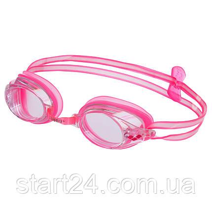 Окуляри для плавання ARENA DRIVE 2 AR-92409 (полікарбонат, термопластична резина, силікон, кольори в, фото 2