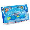 Набор для плавания детский очки и шапочка ARENA AWT MULTI AR-92413 (поликарбонат, термопластичная резина,, фото 5