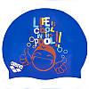 Шапочка для плавания детская ARENA PRINT JUNIOR AR-94171-20 (силикон, цвета в ассортименте), фото 4