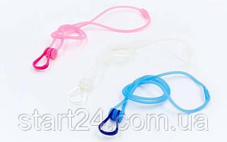 Зажим для носа в пластиковом футляре ARENA AR-95212-20 STRAP PROTECTION (PC-TPR, цвета в ассортименте)