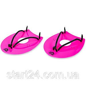 Лопатки для плавання гребні ARENA AR95250 ELITE (поліпропілен, термопласт рез, р-р M-L, кольори в асортименті)