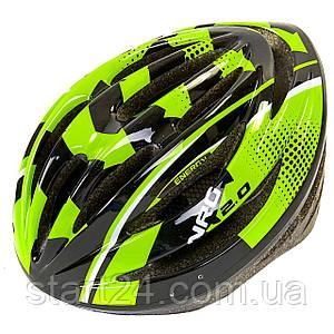 Велошлем кросс-кантри с механизмом регулировки Zelart HB13 (EPS,пластик, PVC, р-р L-M (55-61), цвета в