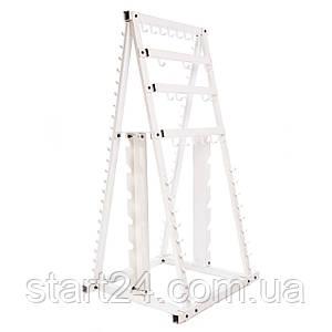 Подставка (стойка) для штанг Zelart SC-8042A (металл, р-р выс.-178см, шир.-94см, глуб.-82см)