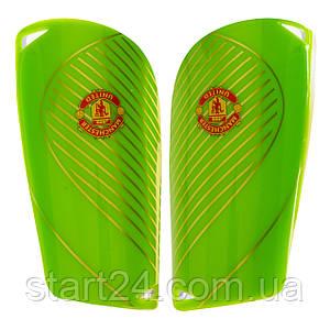 Щитки футбольные MANCHESTER FB-6852 (пластик, EVA, l-14х8см, р-р S-L, цвета в ассортименте)