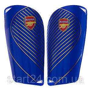 Щитки футбольные ARSENAL FB-6853 (пластик, EVA, l-14х8см, р-р S-L цвета в ассортименте)