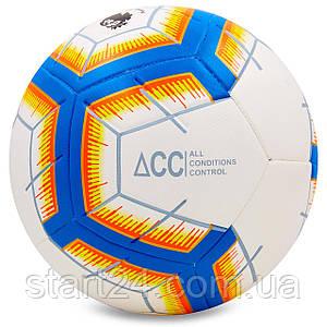 М'яч футбольний №5 PU ламін. Клеєний PREMIER LEAGUE 2018-2019 FB-6882 (№5, кольори в асортименті)