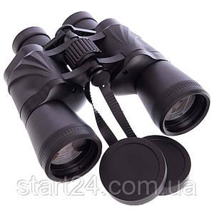 Бинокль BUSHNELL 50х50 AXT1136-B (пластик, стекло, PVC-чехол, черный)