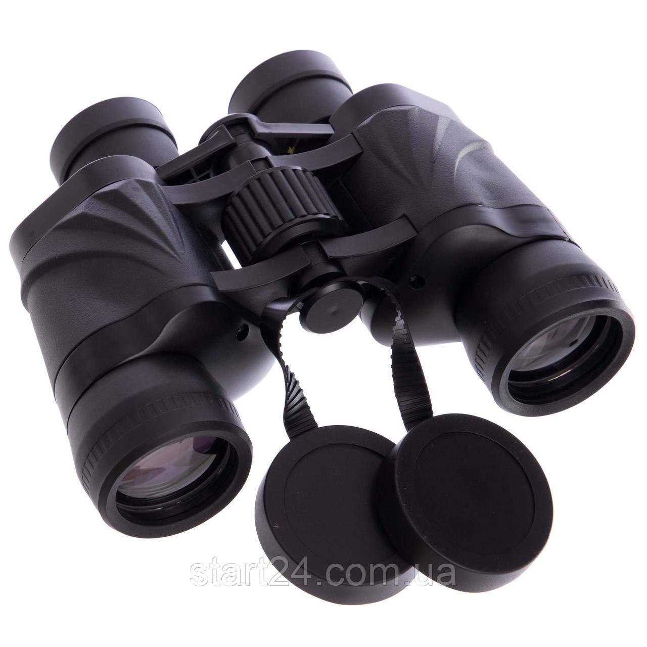 Бинокль BUSHNELL 8х40 AXT1136-S (пластик, стекло, PVC-чехол, черный)
