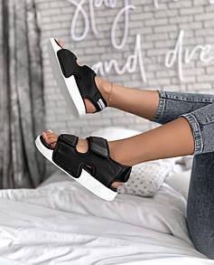 Женские сандалии Adidas Adilette Sandal Black White