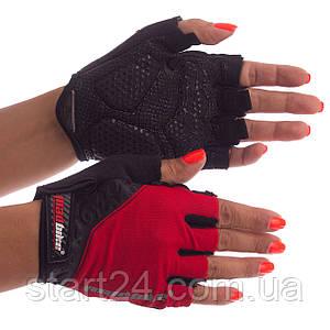 Велоперчатки с открытыми пальцами MADBIKE SK-06 (размер S-XL цвета в ассортименте)