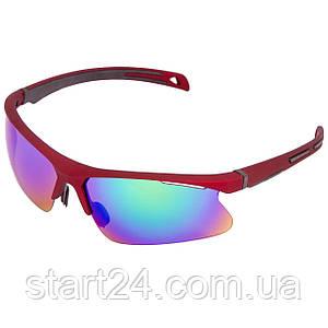 Очки спортивные солнцезащитные BC-1207 (пластик, акрил, цвета в ассортименте)