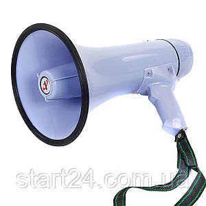 Гучномовець HW-20B-A (пластик, d-19,5 см, l-32,3 см, 30W, на бат (6C), запись10сек)