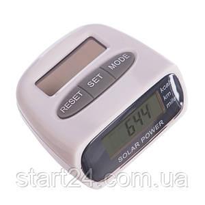 Шагомер электронный с клипсой HY-02T (пластик, 3 в 1 калории, кол-во шагов, расстояние)