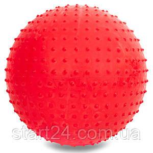 М'яч для фітнесу (фітбол) масажний 75см PS FI-078-75 (PVC, 1350г кольору, в асор ,ABS технологія)
