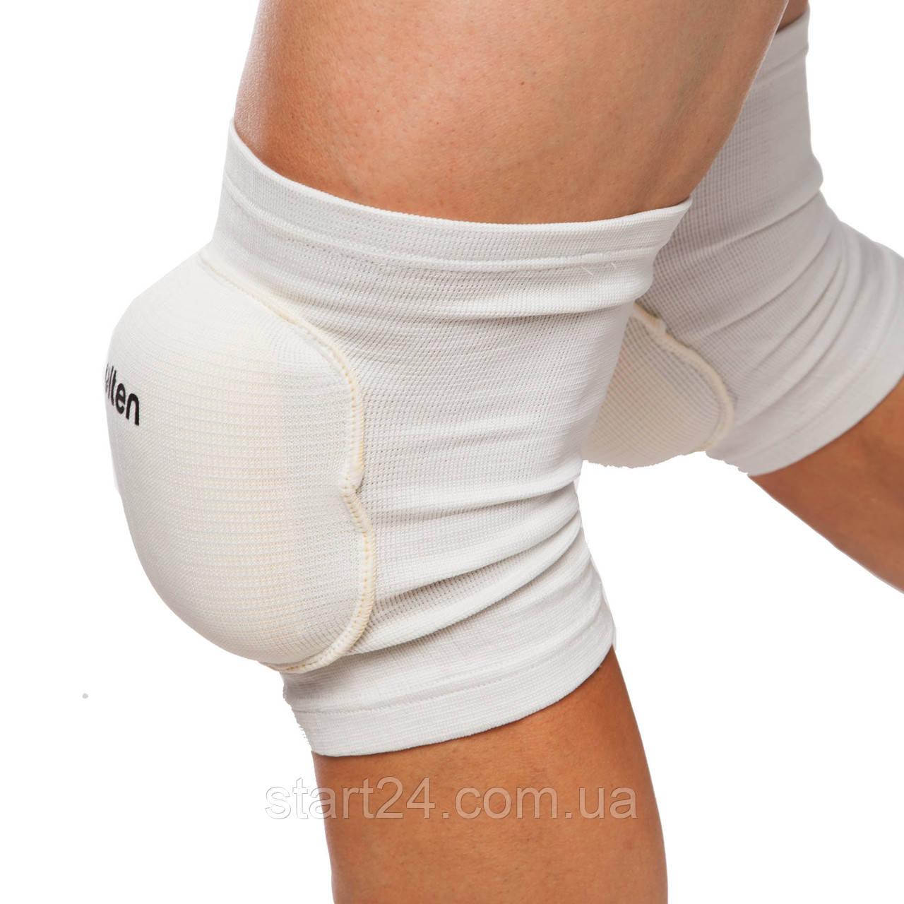 Наколенник волейбольный профессиональный (2шт) MOLTEN BC-4235 (PL, эластан, р-р L, цвета в ассортименте)