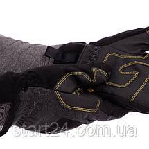 Рукавички теплі текстильні з закритими пальцями MECHANIX BC-5621 (р-р M-XL, чорний), фото 3