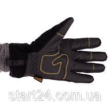 Рукавички теплі текстильні з закритими пальцями MECHANIX BC-5621 (р-р M-XL, чорний), фото 2