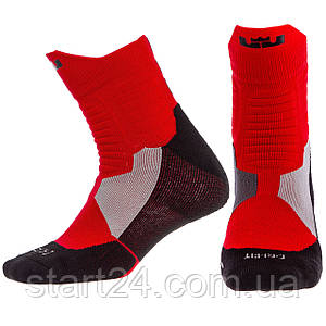 Носки спортивные для баскетбола JCB3302 ALL STAR (нейлон, хлопок, р-р 40-45, цвета в ассортименте)