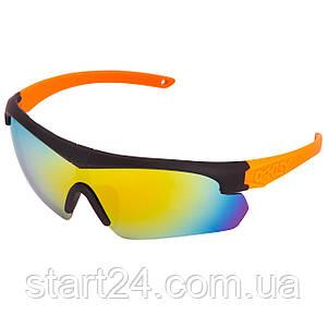 Очки спортивные солнцезащитные OAKLEY BD7932 (пластик, акрил, цвета в ассортименте)