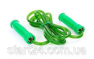 Скакалка для боксу TWINS SR-2 (поліуретан, пластик, l-2,84 м з ручками, з підшипником, кольори в асортименті)