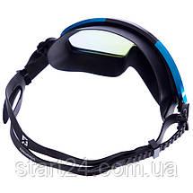 Окуляри-напівмаска для плавання K2SUMMIT BH018 (полікарбонат, TPR, силікон, кольори в асортименті), фото 2