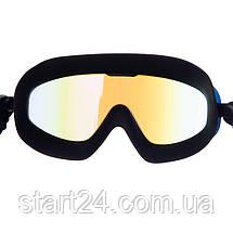 Окуляри-напівмаска для плавання K2SUMMIT BH018 (полікарбонат, TPR, силікон, кольори в асортименті), фото 3