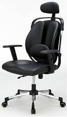Компьютерное детское кресло Barsky ER-01 Ergonomic black, кресло из ткани, фото 2