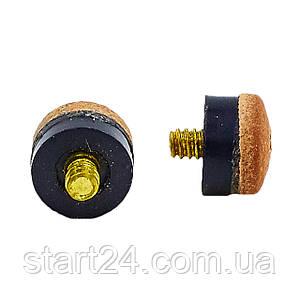 Наконечник з різьбою KS-2639-13 (d-13мм, в уп. 100 шт, ціна за 1 шт)