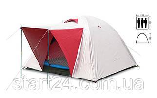 Палатка универсальная 3-х местная с тентом и тамбуром SY-014 (р-р 2х2х1,35м, PL)