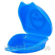 Футляр для боксерской капы Zelart BO-4278 (полипропилен, синий, желтый, прозрачный), фото 3