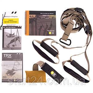Петли TRX функциональный тренажер KIT FORCE T1 FI-3722-01 (петли подвесные, дверное крепление, DVD, сумка,