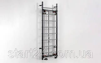 Профессиональная система эспандеров Кросс-тренер L-6775 (металл, 80х234 см)