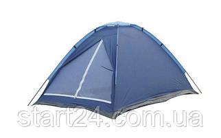 Палатка универсальная 5-ти местная WEEKEND SY-100205 (р-р 2,4х2,4х1,4м, PL 170T, пол PE 110g-m2)