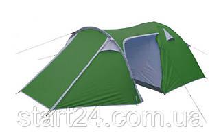 Палатка кемпінгові 4-х місна з тентом і тамбуром МІСТІ SY-100904 (р-р 2,1 x(1,2+0,9+2,4)х1,3м)