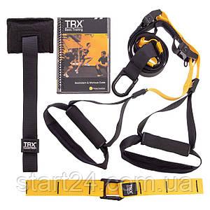 Петли TRX функциональный тренажер PACK P2 FI-3724-03 (петли подвесные, дверное крепление, DVD, сумка,
