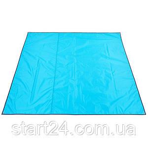 Тент-подстилка туристический от солнца и дождя SY-SZ135 (р-р 2х2,2м, 210D PU 3000, 450гр, цвета в
