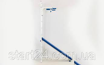Шведская стенка с турником, скамьей для пресса и спины Тонус 2 (СТ Тонус 2) L-6787 (металл, 66х227х56 см), фото 3