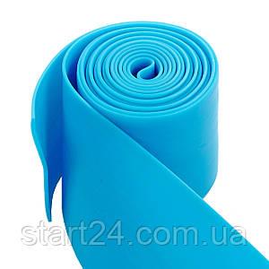 Еластичний джгут спортивний, стрічка джгут VooDoo Floss Band FI-3933-2_5 (латекс,l-2,5 м, 8смх2мм,сін,кр)