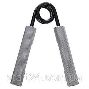 Эспандер кистевой профессиональный Bone Crusher (1шт) FI-4125-150LB (металл, нагрузка 67,5кг)