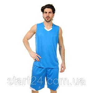 Форма баскетбольная мужская Lingo LD-8002 (PL, размер L-5XL 160-190, цвета в ассортименте)