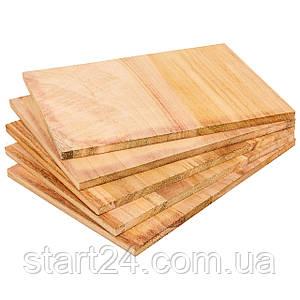 Дошка для розбивання одноразова SP-Planeta BO-7252-12 (деревина, розмір 30х21см, товщина 12мм)