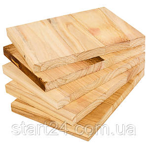 Доска для разбивания одноразовая SP-Planeta BO-7252-25 (древесина, размер 30x21см, толщина 25мм)