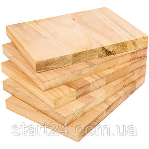 Доска для разбивания одноразовая SP-Planeta BO-7252-30 (древесина, размер 30x21см, толщина 30мм)