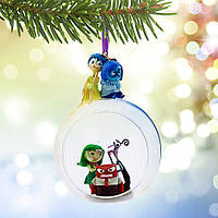 "Disney Pixar Inside Out Glass Globe Sketchbook Ornament   Шарик ёлочная игрушка ""Мыслями наизнанку"" Disney"