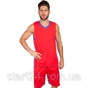 Форма баскетбольная мужская Lingo LD-8018 (PL, размер L-5XL 160-190, цвета в ассортименте)