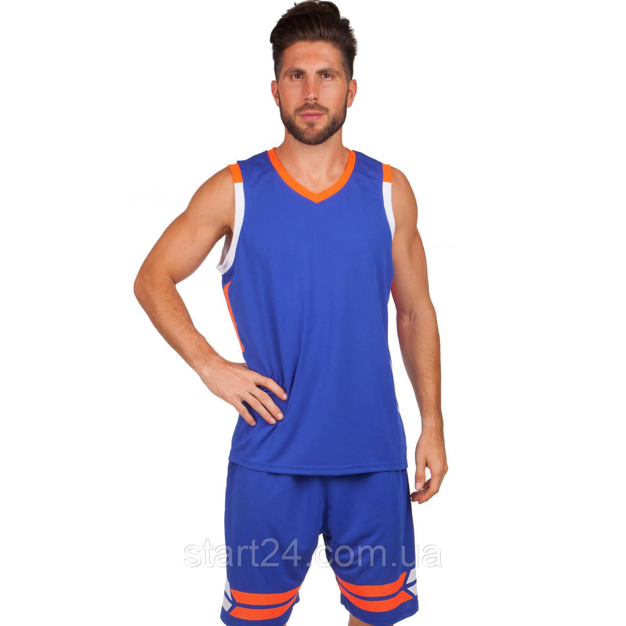 Форма баскетбольна чоловіча Lingo LD-8019 (PL, розмір L-5XL 160-190, кольори в асортименті)