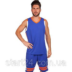 Форма баскетбольная мужская Lingo LD-8019 (PL, размер L-5XL 160-190, цвета в ассортименте)