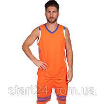 Форма баскетбольна чоловіча Lingo LD-8019 (PL, розмір L-5XL 160-190, кольори в асортименті), фото 2