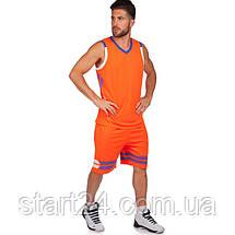 Форма баскетбольна чоловіча Lingo LD-8019 (PL, розмір L-5XL 160-190, кольори в асортименті), фото 3